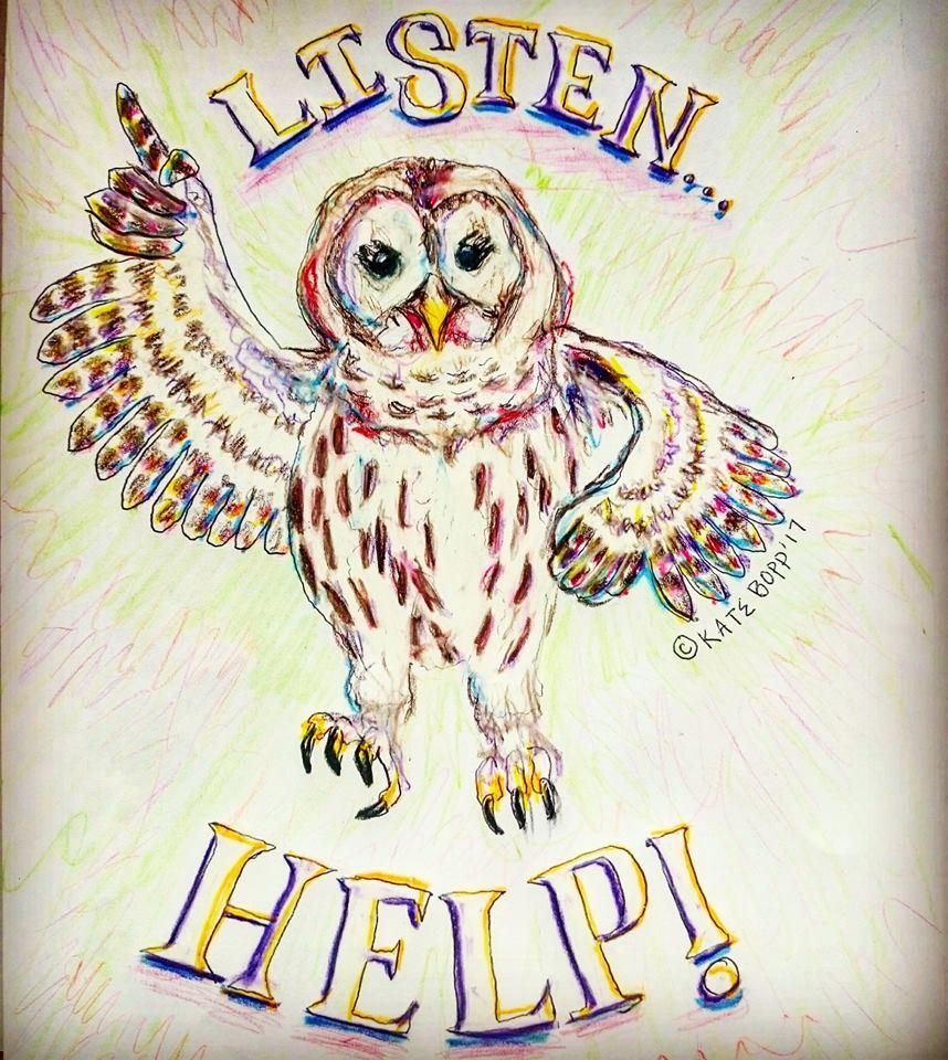 help listen owl barred